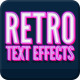 Vintage Retro Text Effects Vol. 2 - GraphicRiver Item for Sale