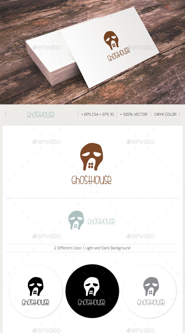 GhostHouse - Buildings Logo Templates
