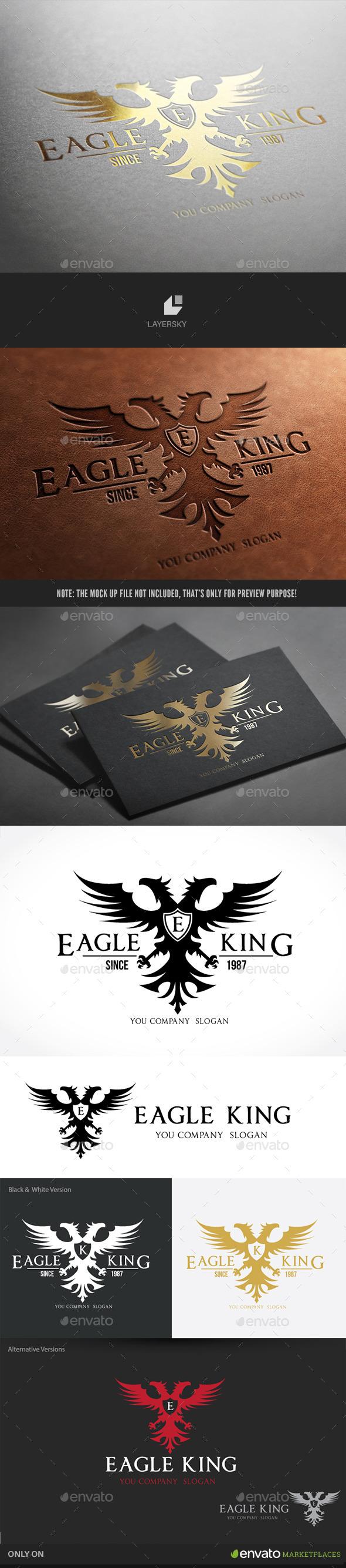 Eagle King - Crests Logo Templates