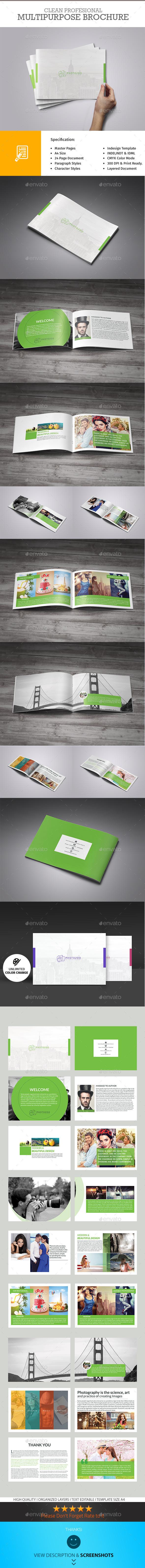 Multipurpose Portfolio Brochure - Portfolio Brochures