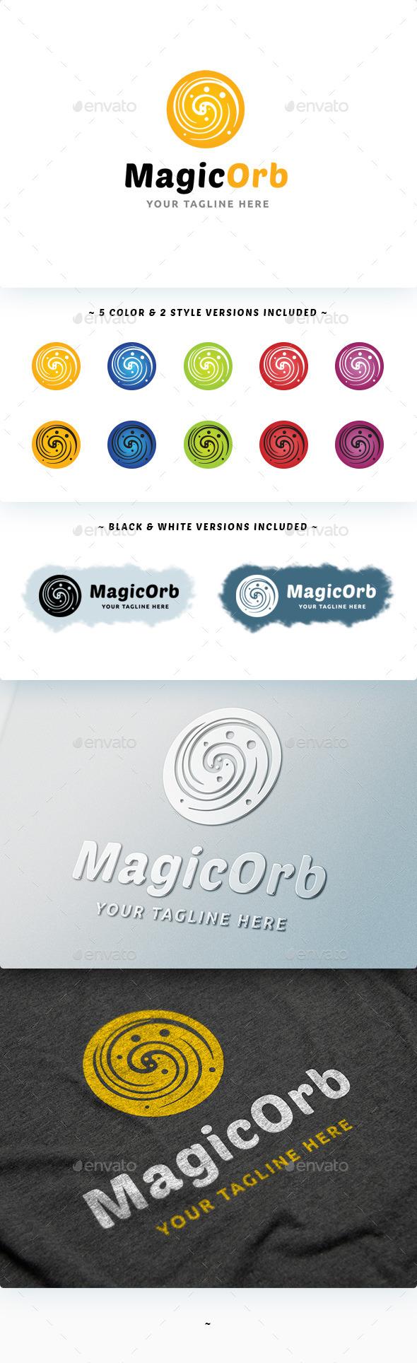 Magic Orb Logo - Abstract Logo Templates