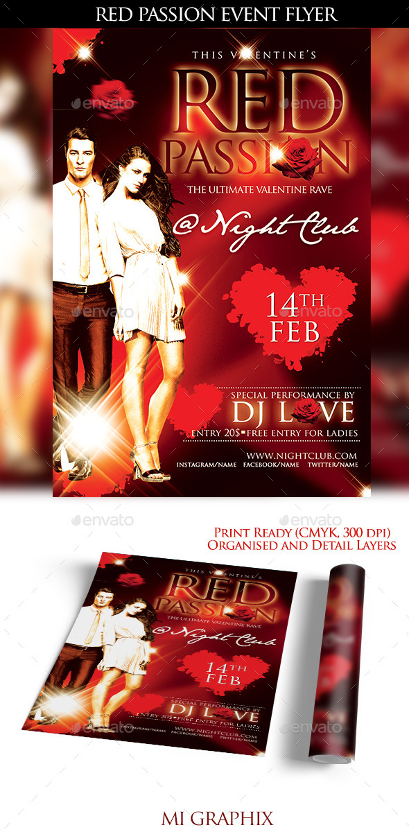 Red Passion - Clubs & Parties Events