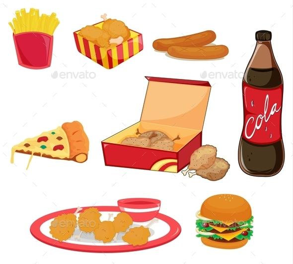 Junk Food - Food Objects