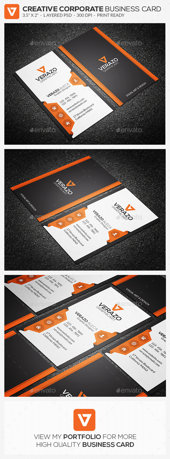 Creative & Modern Business Card 68 - Creative Business Cards
