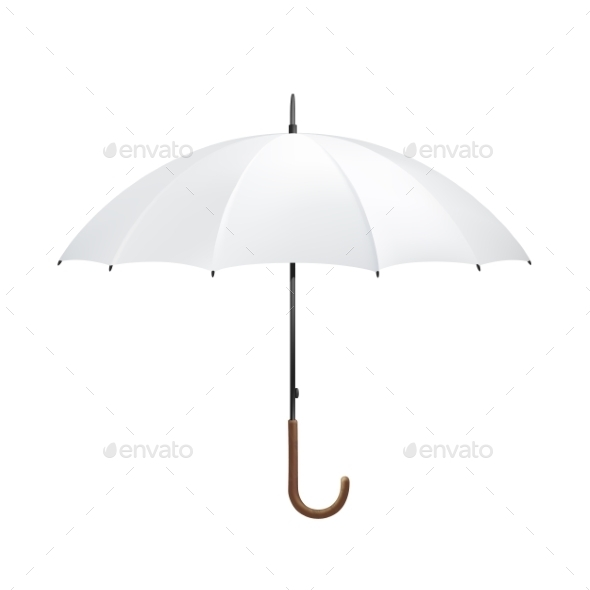 Blank Umbrella - Objects Vectors