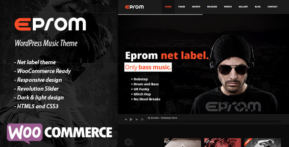 EPROM – WordPress Music Theme
