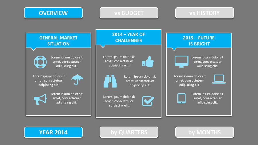 Smart  Annual Review Powerpoint Template By SmartPoint