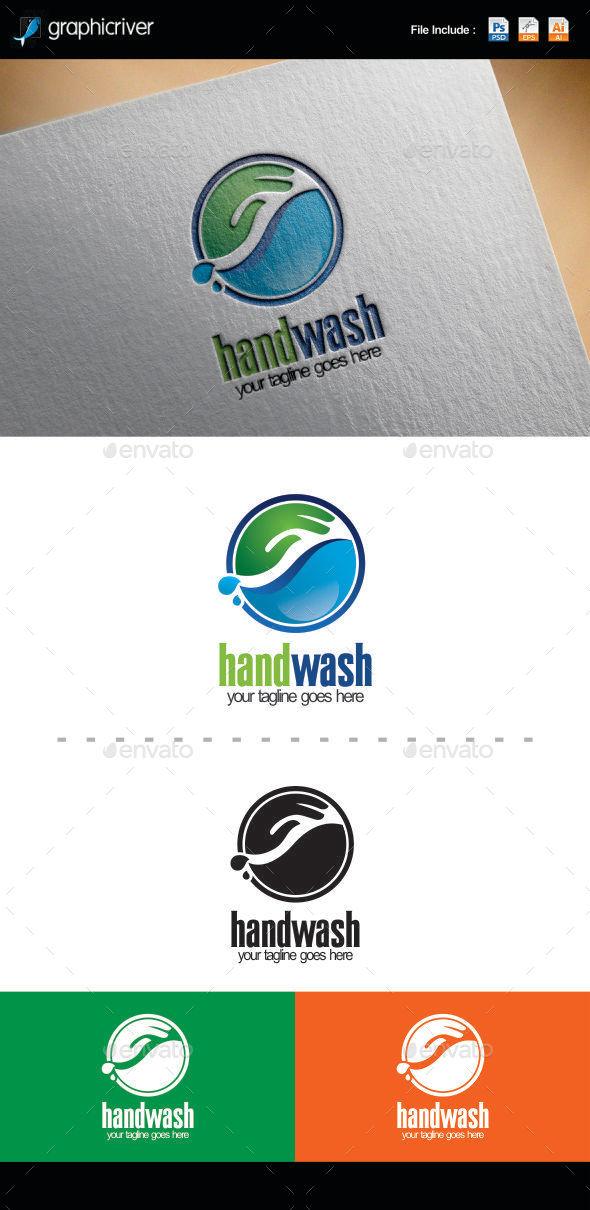 Hand Wash Logo - Logo Templates