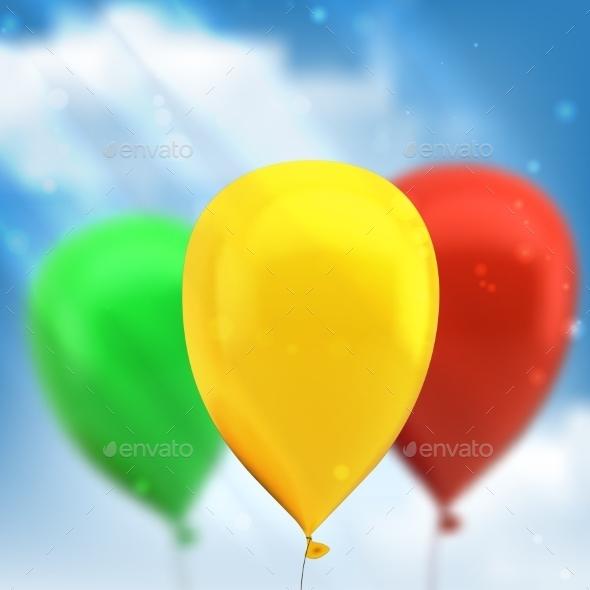 Balloons - Birthdays Seasons/Holidays