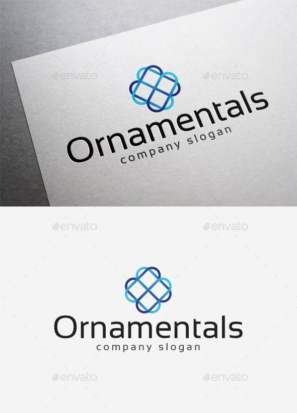 Ornamentals Logo - Abstract Logo Templates