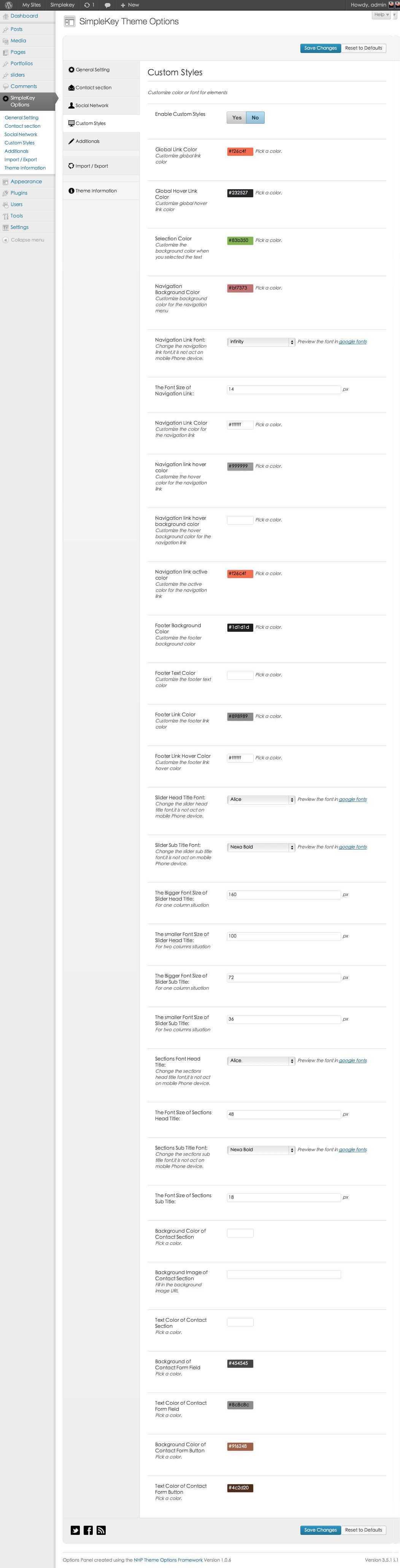 Simplekey One Page Portfolio Wordpress Theme By Themevan Themeforest