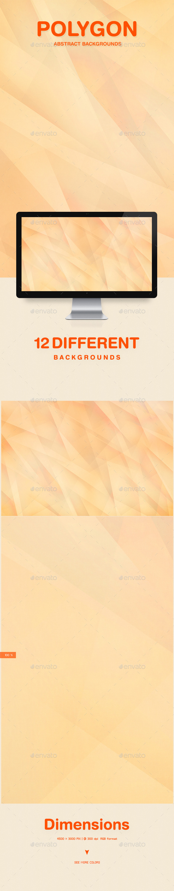 Polygon Abstract Backgrounds - Patterns Backgrounds