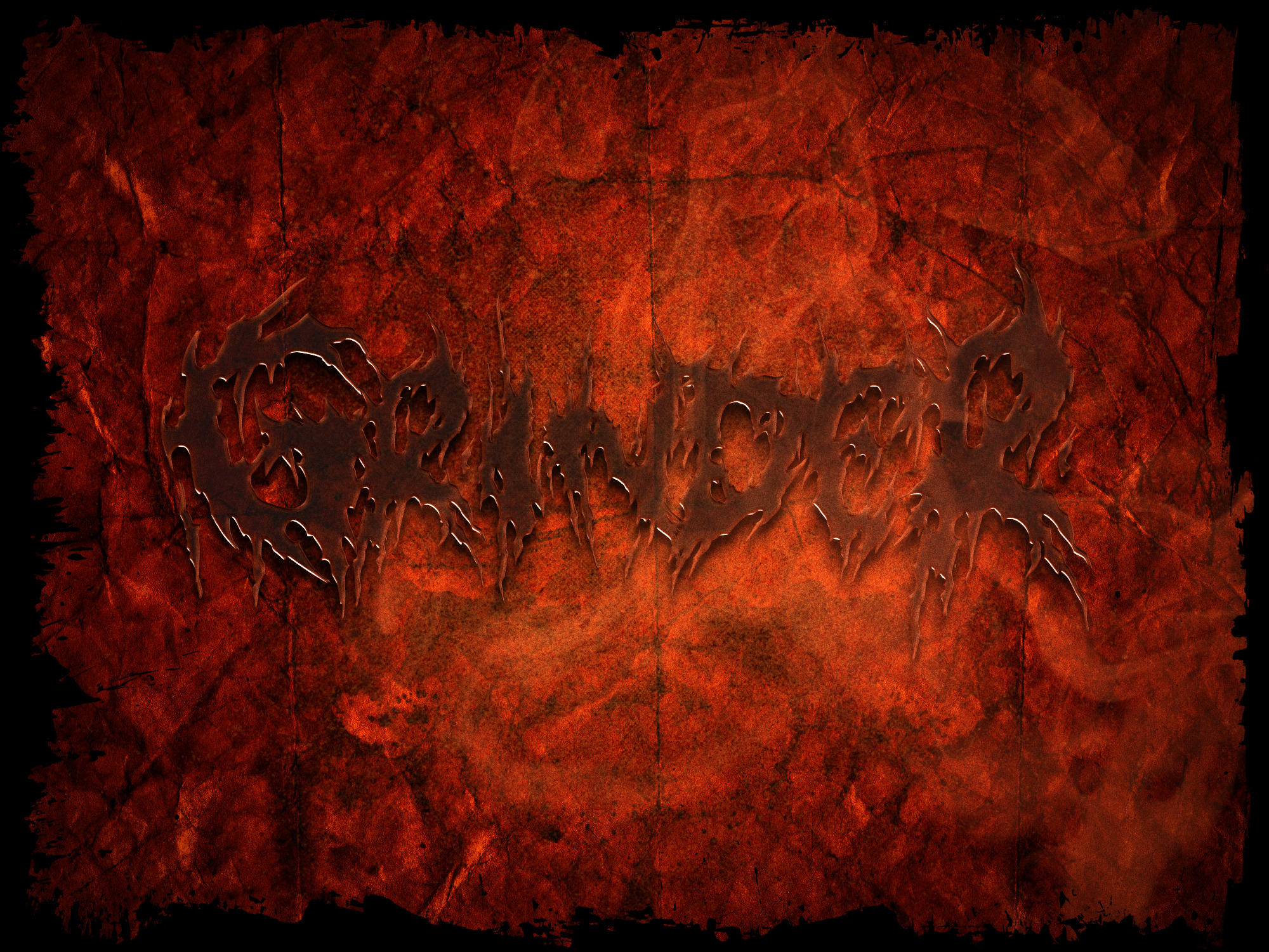 brutal death grind core band logo text effects styles vol