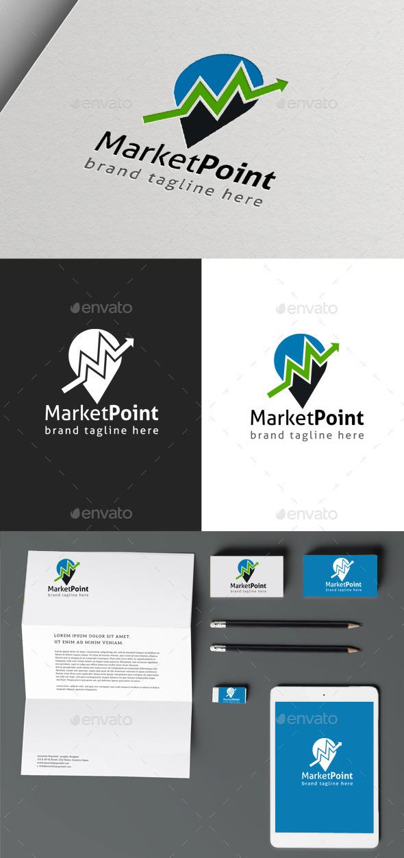 Marketing Point - Objects Logo Templates