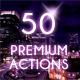 50 Premium Photo Actions - GraphicRiver Item for Sale