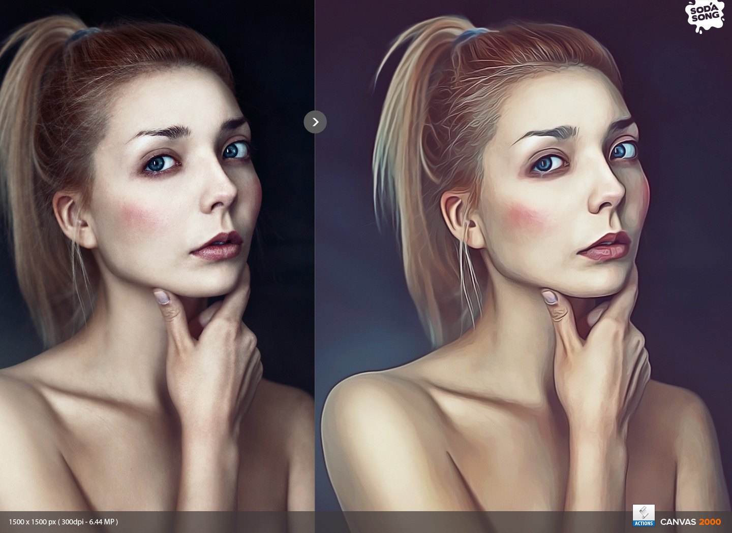 Realistic painting effect v2 painting action by sodasong realistic painting action for photoshop by sodasong in graphicriver preview 1g baditri Images
