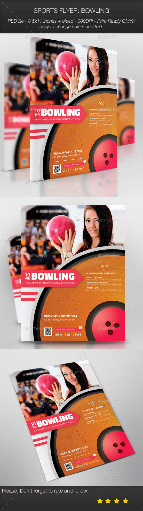 Sports Flyer Bowling - Sports Events