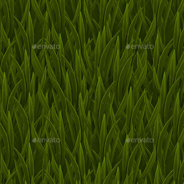 Hand Painted Grass Texture by ArtemDe 3DOcean