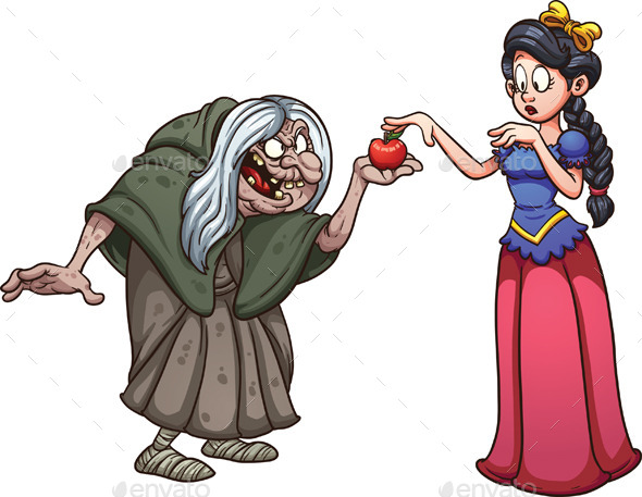 Snow White and Witch - People Characters