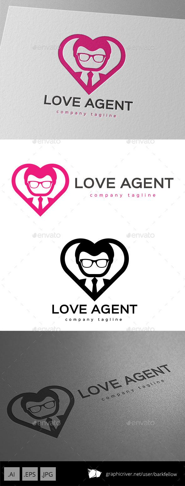 Love Agent Logo - Symbols Logo Templates