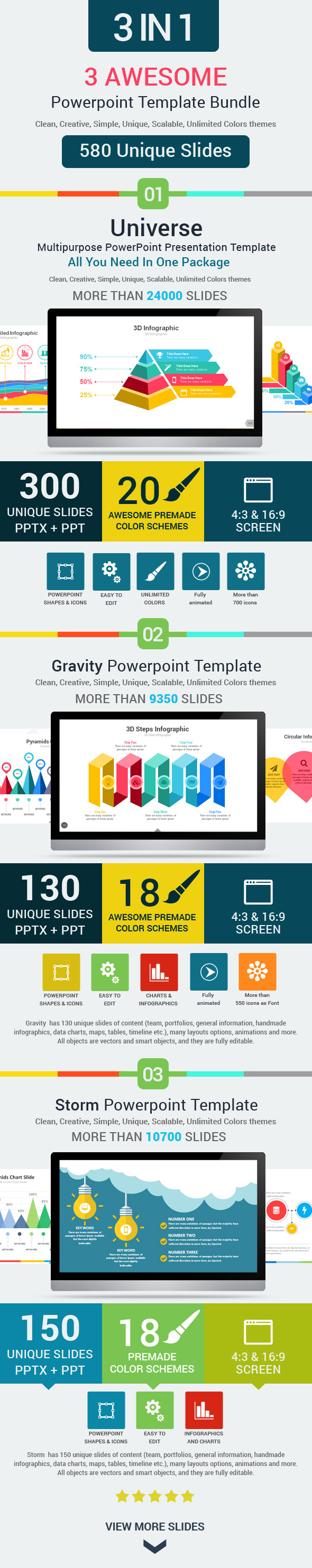 3 powerpoint template bundle by rojdark graphicriver 3 powerpoint template bundle powerpoint templates presentation templates alramifo Image collections