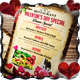 Valentine Menu Flyer Templates - GraphicRiver Item for Sale