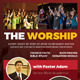The Worship Flyers - GraphicRiver Item for Sale