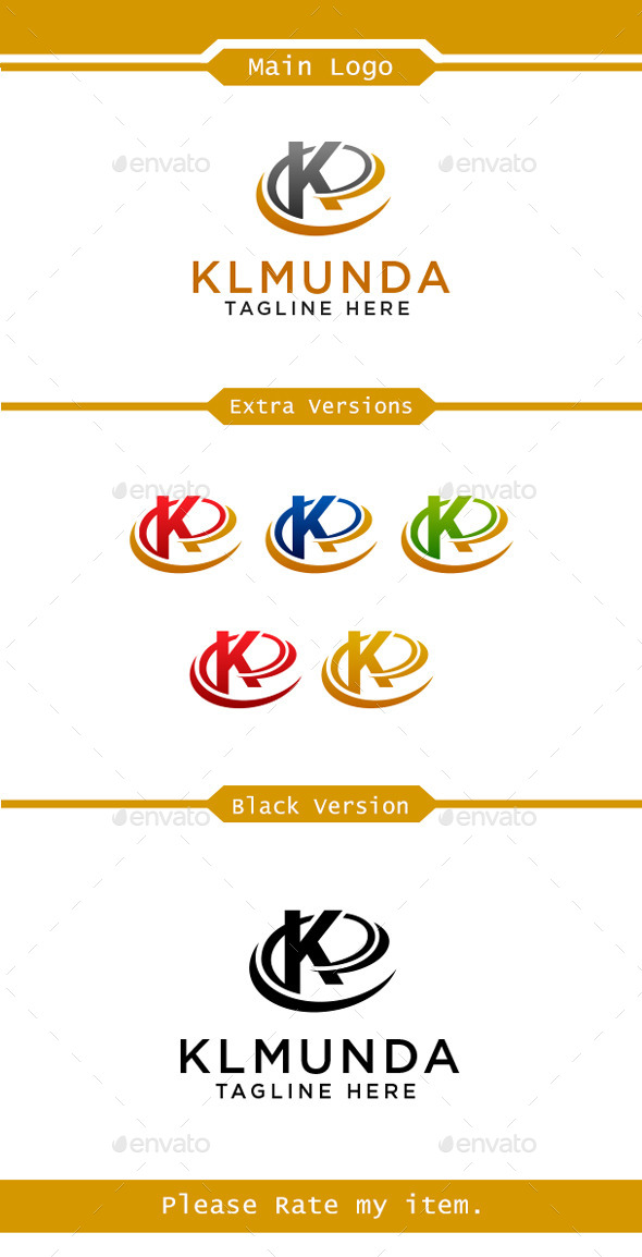K logo - Letters Logo Templates