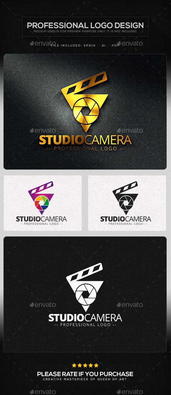 Studio Camera Logo Template - Symbols Logo Templates