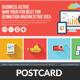 Creative Business Agency Postcard Template