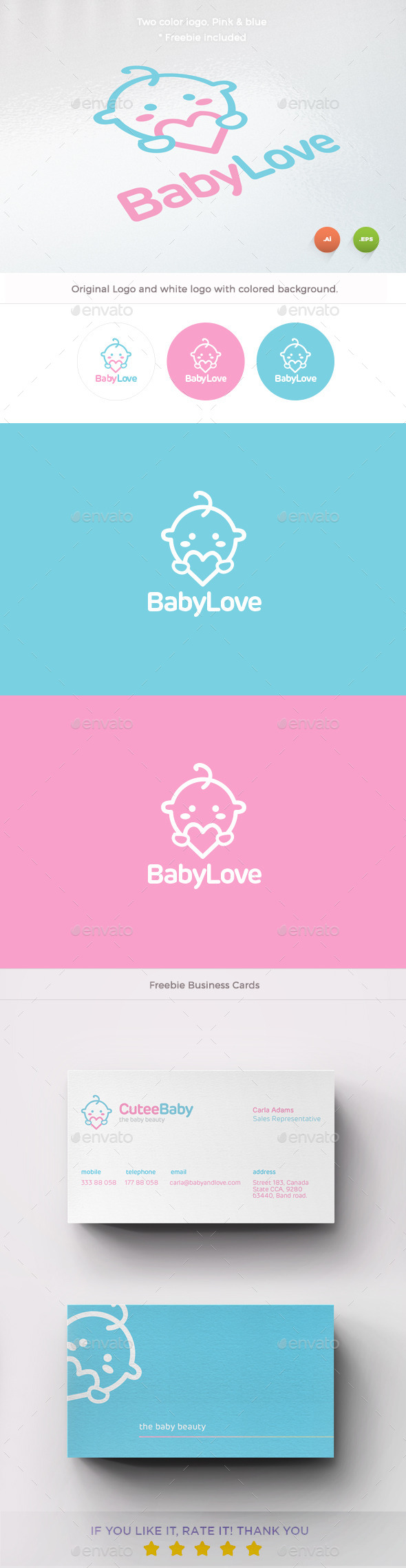 Baby Love Logo - Humans Logo Templates