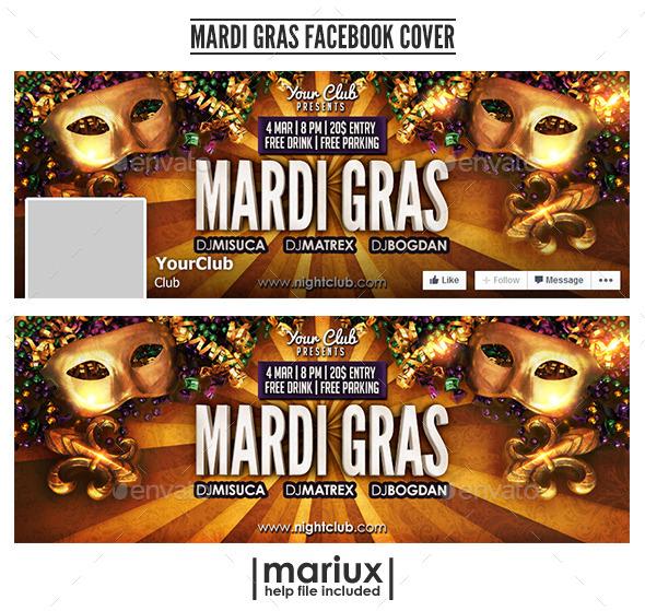 Mardi Gras Facebook Cover - Facebook Timeline Covers Social Media