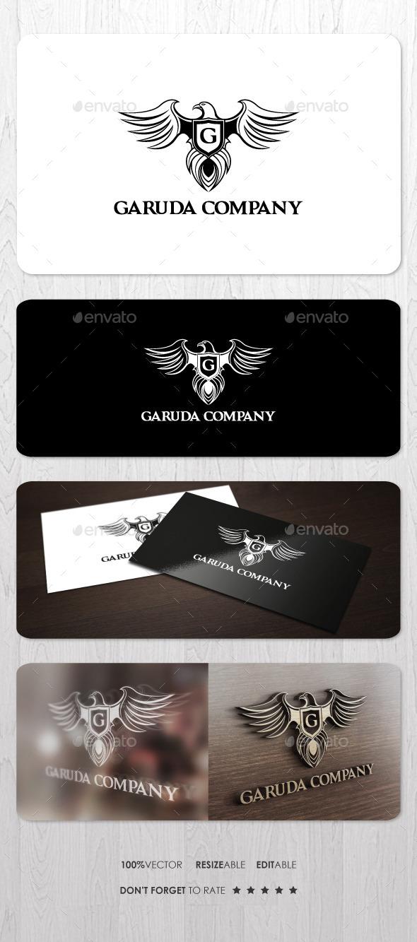 Garuda Company Logo - Animals Logo Templates