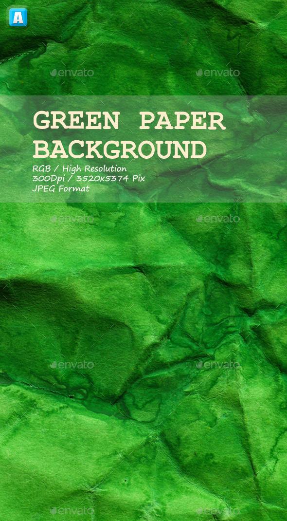Green Paper Texture 0034 - Paper Textures