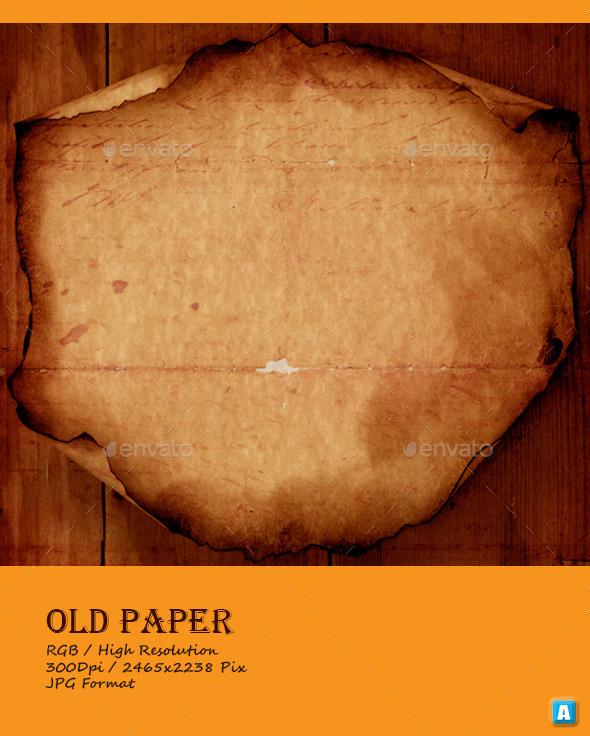Vintage Old Paper Texture 0035 - Paper Textures