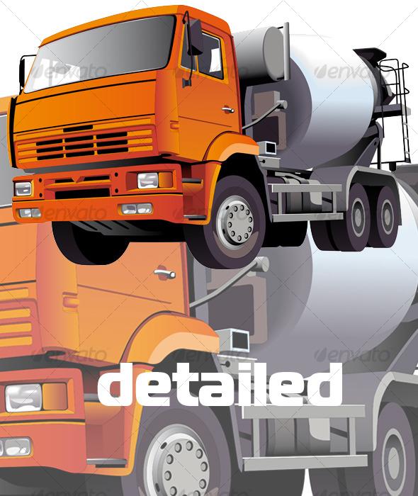 Concrete Mixer - Industries Business