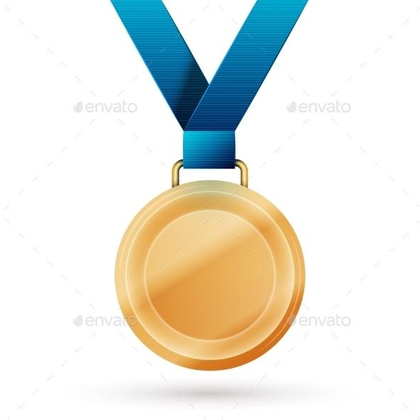 Gold Medal - Health/Medicine Conceptual