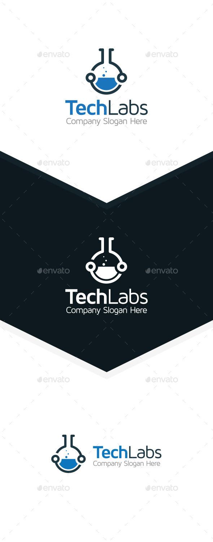 Tech Lab - Symbols Logo Templates