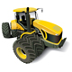 Yellow Modern Tractor - GraphicRiver Item for Sale
