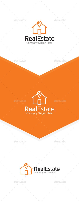 Home Locator - Buildings Logo Templates