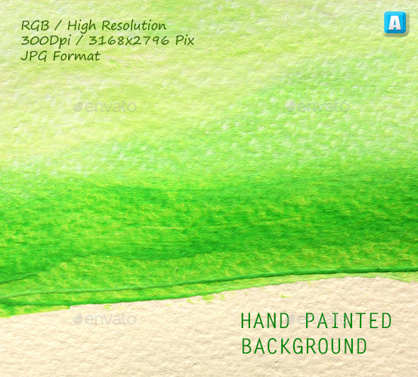 Hand Painted Background 0042 - Paper Textures