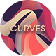 Colorful Curves Backgrounds - GraphicRiver Item for Sale