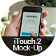 iTouch 2 - 12 Photorealistic MockUp