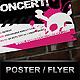 Rock Concert Poster / Flyer - GraphicRiver Item for Sale