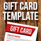 Gift Card - Voucher  template - GraphicRiver Item for Sale
