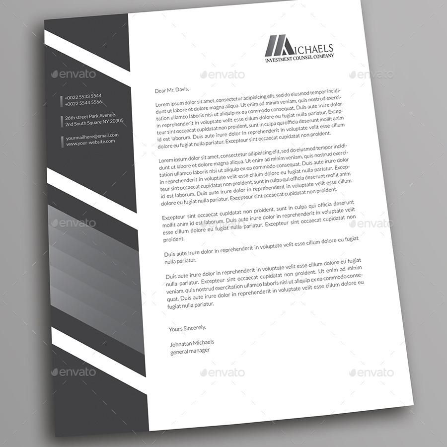 Corporate Letterhead 03 By Betty_design