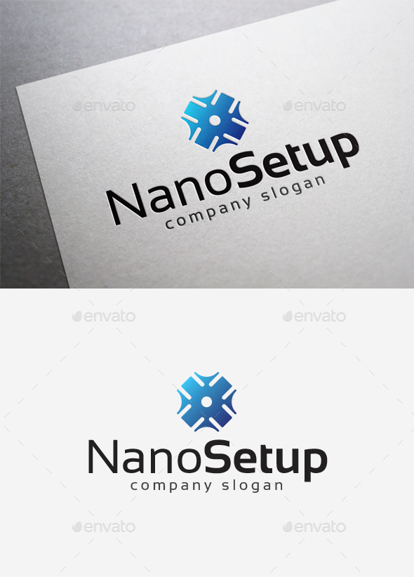 Nano Setup Logo - Abstract Logo Templates