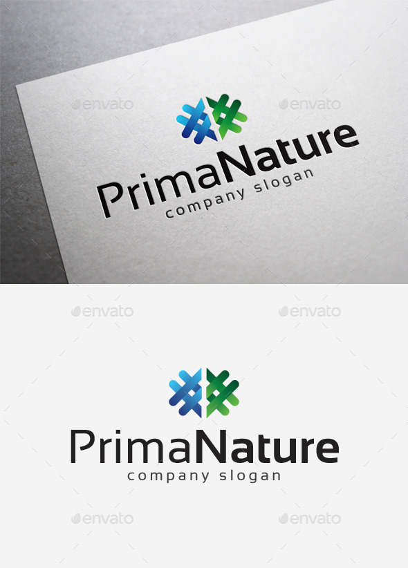 Prima Nature Logo - Abstract Logo Templates