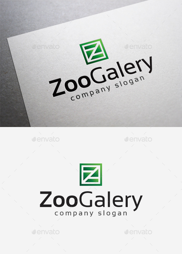 Zoo Galery Logo - Letters Logo Templates