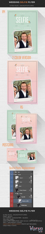 Wedding Selfie Flyer